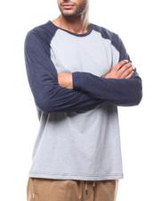 Shirts - L/S Knit Raglan Contrast Sleeve Crew-2277816