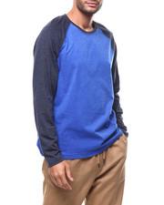 Shirts - L/S Knit Raglan Contrast Sleeve Crew-2277827