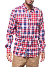 Nautica - L/S PLAID BUTTONDOWN-2277755