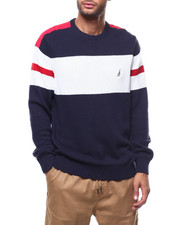 Sweatshirts & Sweaters - ARM STRIPE SWEATER-2278056