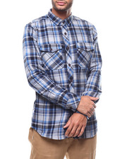Jordan Craig - Plaid Button down Shirt-2278012