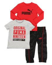 Puma - 3 Piece Tee & Track Pants Set (2T-4T)-2277157