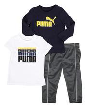 Puma - 3 Piece Tee & Track Pant Set (Infant)-2277169