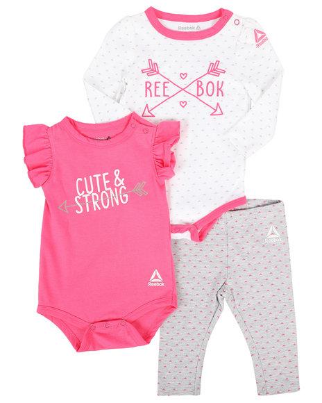 Reebok - 3 Piece Knit Set (Infant)