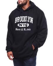 Big & Tall Faves - Born & Raised In Bklyn Hoodie (B&T)-2278706