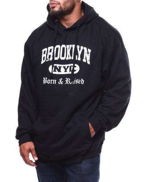 Hard Turn - Born & Raised In Bklyn Hoodie (B&T)