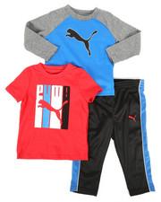 Puma - 3 Piece Tee & Track Pant Set (Infant)-2277173