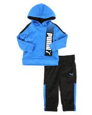 Puma - 2 Piece Tech Hoodie & Jogger Pants Set (Infant)-2277145
