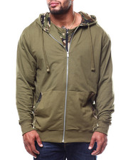 Light Jackets - Solid Camo Layer Hoodie (B&T)-2278439