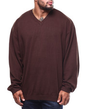 Sweatshirts & Sweaters - L/S V-Neck (B&T)-2278669