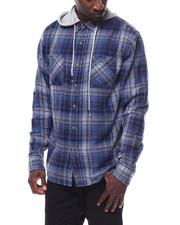 Shirts - ELI FLANNEL W HOOD-2278808