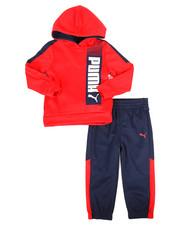 Puma - 2 Piece Tech Hoodie & Jogger Pants Set (2T-4T)-2277153