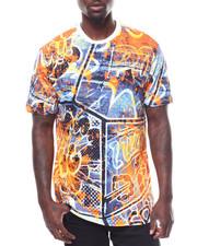 Shirts - SPRAY PAINT PRINT TEE-2278185