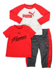 Puma - 3 Piece Tee & Track Pant Set (Infant)-2277161