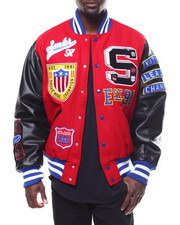 SMOKE RISE - Old School Varsity Jacket-2278714