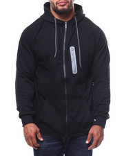 Outerwear - Oversized Full Zip Tech Fleece Hoodie (B&T)-2278421