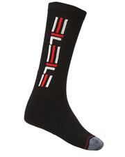 Socks - Heritage Back Stripe Crew Socks-2277663