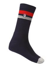 Fila - Heritage Unisex Block Toe Crew Socks-2277667