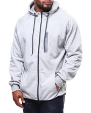 Light Jackets - Oversized Full Zip Tech Fleece Hoodie (B&T)-2278425