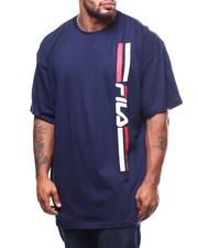 Short-Sleeve - S/S Fila Linear Logo Tee (B&T)-2278631