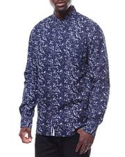 Shirts - TWILIGHT PRINT LS BUTTON FRONT SHIRT-2278314