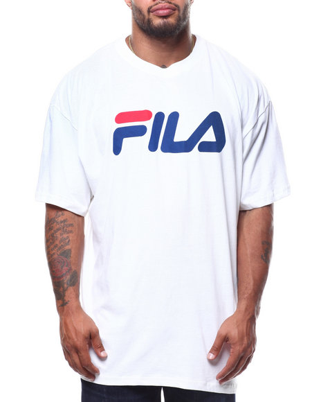 Fila - S/S Fila Logo Scrip Tee (B&T)