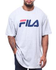 Big & Tall Faves - S/S Fila Logo Scrip Tee (B&T)-2278603