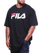 Men - S/S Fila Logo Scrip Tee (B&T)-2278637