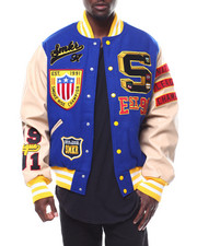 SMOKE RISE - Old School Varsity Jacket-2278700