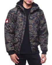Heavy Coats - canada weather fleece lined hooded jacket-2279007