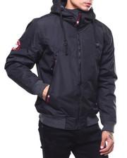 Heavy Coats - canada weather fleece lined hooded jacket-2279002