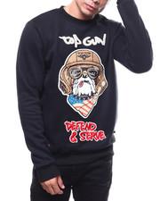 Sweatshirts & Sweaters - Bulldog Defend & Serve Crewneck Sweatshirt-2279189