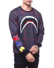Sweatshirts & Sweaters - SHARK MOUTH GLEN PLAID SWEATSHIRT-2278858