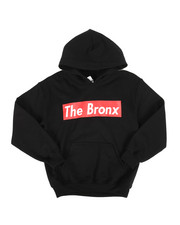 Hard Turn - Bronx Logo Pullover Hoodie (8-20)-2278521