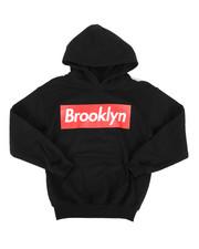 Hard Turn - Brooklyn Logo Pullover Hoodie (8-20)-2278526