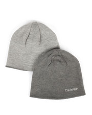 Beanie - Solid Reversible Knit Beanie-2279000
