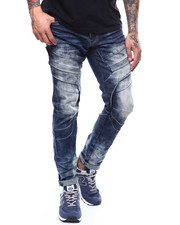 SMOKE RISE - ARTICULATED KNEE JEAN-2277434