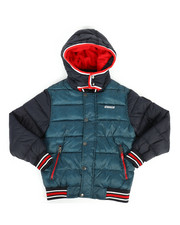 DIESEL KIDS - Hooded Bubble Jacket (8-20)-2278825