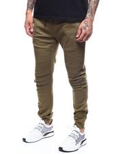 Sweatpants - Moto Fleece Joggerw Zipper Detail-2277822