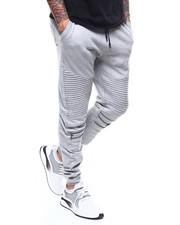 Sweatpants - Moto Fleece Joggerw Zipper Detail-2277853