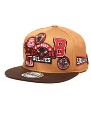 Hats - Multi Patch 6-Panel Snapback Hat-2278973