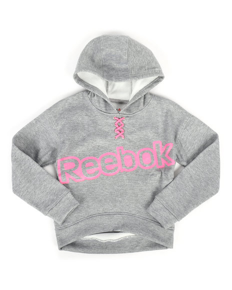 Reebok - Lace Up Popover Hoodie (7-16)