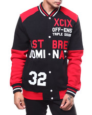 Light Jackets - VARSITY BASEBALL JACKET-2278290