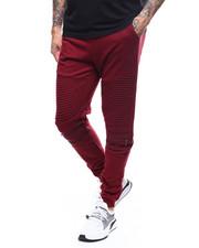 Sweatpants - Moto Fleece Joggerw Zipper Detail-2277843