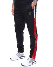 Parish - TRACK POLY INTERLOCK PANT-2278302