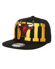 Snapback - Bullies Lurex Embroidery Logo Snapback Hat-2278971