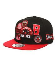 Hats - Multi Patch 6-Panel Snapback Hat-2278972