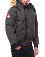 Heavy Coats - CANADA WEATHER zip up Faux Fur Hood Jacket-2279194