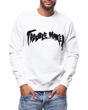 Eleven Paris - TROUBLE MAKER CHENILLE SWEATSHIRT-2279708