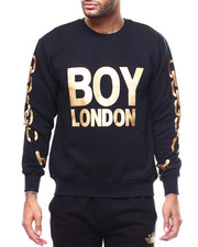 BOY LONDON - Gold Chain Printed on Sleeves Sweatshirt-2279607